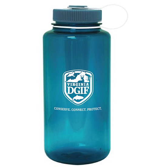Cadet Blue Nalgene Water Bottle
